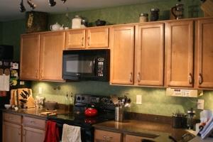 New kitchen look