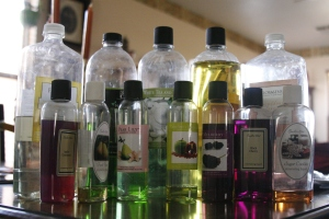 scented oils